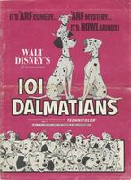 One Hundred and One Dalmatians movie poster (1961) picture MOV_9076df36