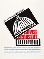 Advise & Consent movie poster (1962) picture MOV_9095d12c