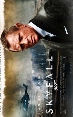 Skyfall movie poster (2012) poster MOV_9097a504