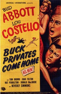 Buck Privates Come Home movie poster (1947) poster MOV_909c75e5