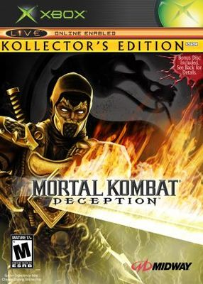Mortal Kombat: Deception movie poster (2004) poster MOV_90ae8d90