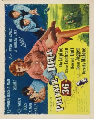 Private Hell 36 movie poster (1954) poster MOV_90b81273