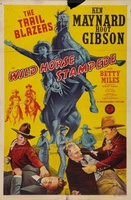 Wild Horse Stampede movie poster (1943) picture MOV_90c0fb53