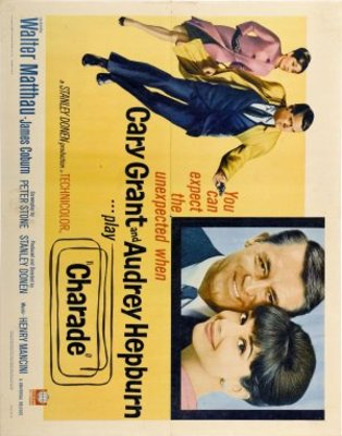 Charade movie poster (1963) poster MOV_90cf11d3