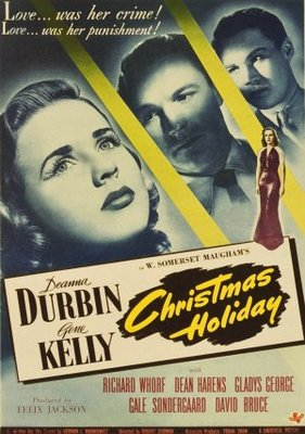 Christmas Holiday movie poster (1944) poster MOV_90fb7397