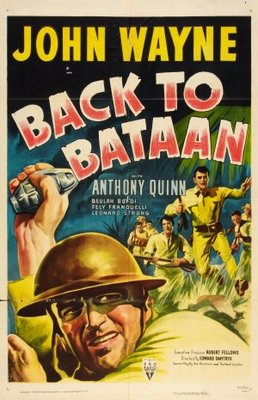 Back to Bataan movie poster (1945) poster MOV_90fb8d42