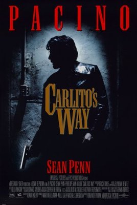 Carlito's Way movie poster (1993) poster MOV_913a9b9c