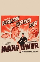 Manpower movie poster (1941) picture MOV_915ede8d