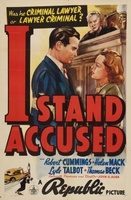 I Stand Accused movie poster (1938) picture MOV_9176c143