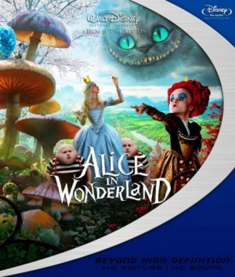 Alice in Wonderland movie poster (2010) poster MOV_917eac51
