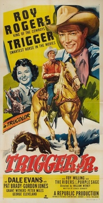 Trigger, Jr. movie poster (1950) poster MOV_919bcd81