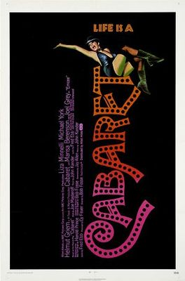 Cabaret movie poster (1972) poster MOV_91b58566