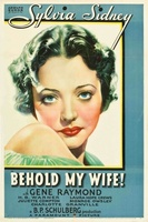 Behold My Wife movie poster (1934) picture MOV_91bc902f