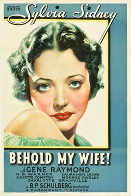 Behold My Wife movie poster (1934) poster MOV_91bc902f