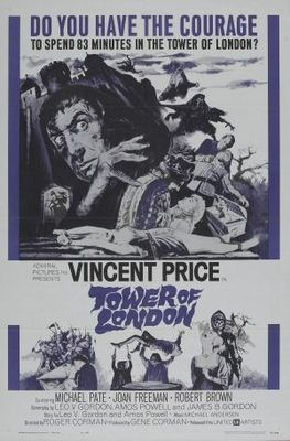 Tower of London movie poster (1962) poster MOV_91bf703e