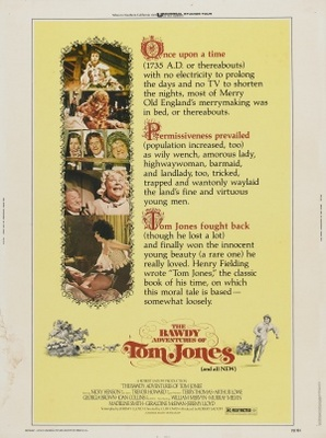 The Bawdy Adventures of Tom Jones movie poster (1976) poster MOV_91c26487