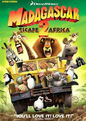 Madagascar: Escape 2 Africa movie poster (2008) poster MOV_91cb13e7
