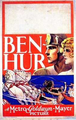 Ben-Hur movie poster (1925) poster MOV_91e86d19