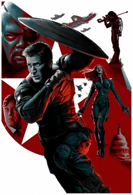 Captain America: The Winter Soldier movie poster (2014) poster MOV_920ecfa6