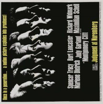 Judgment at Nuremberg movie poster (1961) poster MOV_921bcbb6