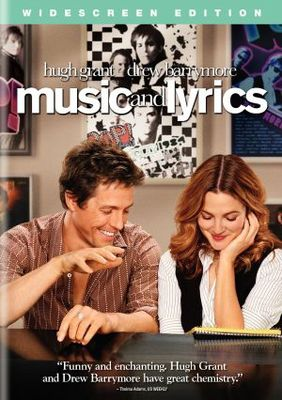 Music and Lyrics movie poster (2007) poster MOV_9222559e