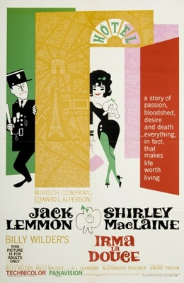 Irma la Douce movie poster (1963) poster MOV_9225ad12