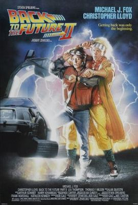 Back to the Future Part II movie poster (1989) poster MOV_9240dcd1