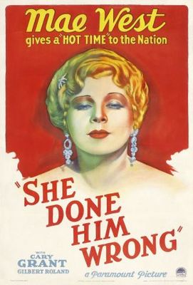 She Done Him Wrong movie poster (1933) poster MOV_925712a0