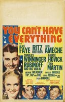 You Can't Have Everything movie poster (1937) picture MOV_9265025b