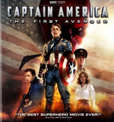 Captain America: The First Avenger movie poster (2011) poster MOV_9271f12c