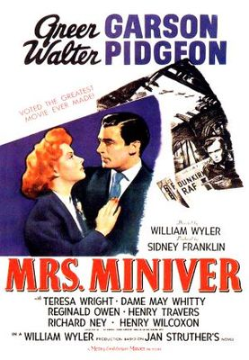 Mrs. Miniver movie poster (1942) poster MOV_9288134e