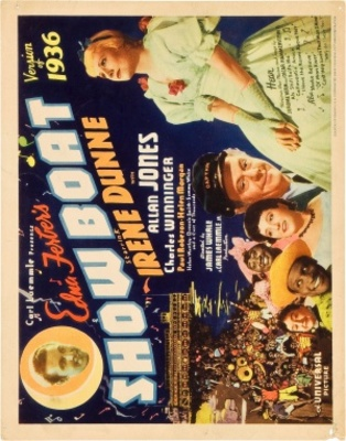 Show Boat movie poster (1936) poster MOV_92ad7ddf