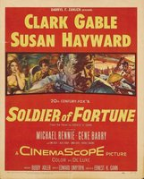 Soldier of Fortune movie poster (1955) picture MOV_92b0976d