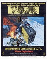Where Eagles Dare movie poster (1968) picture MOV_92b3f6d0