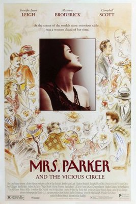 Mrs. Parker and the Vicious Circle movie poster (1994) poster MOV_92bf4e45