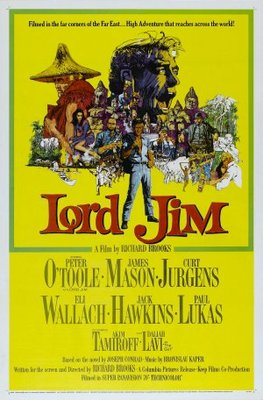 Lord Jim movie poster (1965) poster MOV_92c153d0