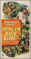 Bring 'Em Back Alive movie poster (1932) picture MOV_92d44e31