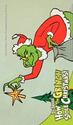 How the Grinch Stole Christmas! movie poster (1966) poster MOV_92dd254f