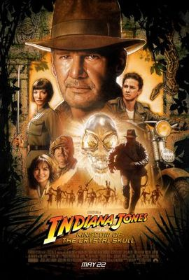Indiana Jones and the Kingdom of the Crystal Skull movie poster (2008) poster MOV_92f3d871