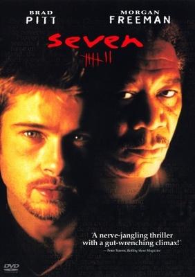 Se7en movie poster (1995) poster MOV_92ffd2c7