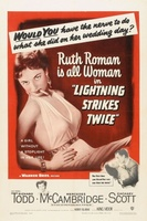Lightning Strikes Twice movie poster (1951) picture MOV_9300840d