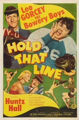 Hold That Line movie poster (1952) poster MOV_93079363