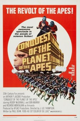 Conquest of the Planet of the Apes movie poster (1972) poster MOV_930d0755