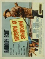 Decision at Sundown movie poster (1957) picture MOV_93311f48