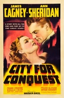 City for Conquest movie poster (1940) picture MOV_933d21a5