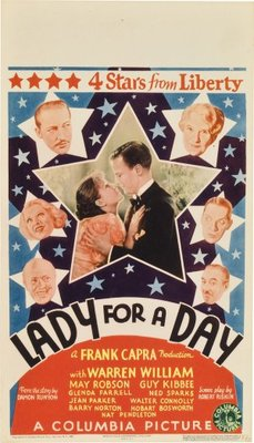 Lady for a Day movie poster (1933) poster MOV_93407044