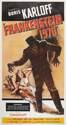 Frankenstein - 1970 movie poster (1958) poster MOV_93576975