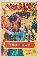 Fort Bowie movie poster (1958) picture MOV_935a47af