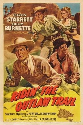 Ridin' the Outlaw Trail movie poster (1951) poster MOV_93666a50