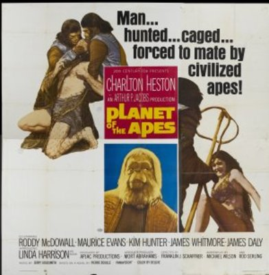 Planet of the Apes movie poster (1968) poster MOV_936afa45